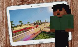 Minecraft Gta San andreas Mod screenshot 1/1