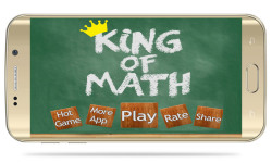 King of Math - Game for Kids to Learn Mathematics screenshot 4/6
