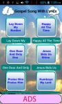 GP Gospel Song With Lyrics screenshot 3/6
