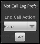 Not Call Log screenshot 1/1
