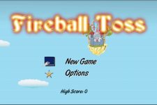 Fireball Toss screenshot 1/5