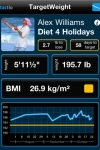 Target WEIGHT for Adults (Personal Daily Weight Tracker & BMI) screenshot 1/1