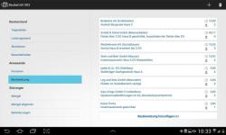Bauskript Site Journal Bautagebuch App screenshot 2/3