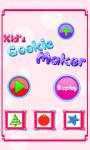 Kids Cookies Maker-Baking Game screenshot 1/5
