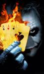 Burning Poker Joker Live Wallpaper screenshot 1/3