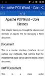 Learn Apache POI Word screenshot 2/3
