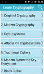 Learn Cryptography screenshot 1/3
