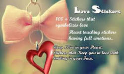 Love stickers wallpapers app screenshot 4/4