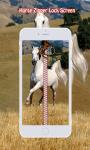 Horse Zipper Lock Screen screenshot 1/6