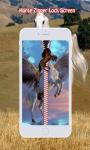 Horse Zipper Lock Screen screenshot 3/6