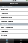 Back Pain Relief from CORE Physical Therapy screenshot 1/1