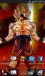 supersaiyan goku livewallpaper screenshot 1/4