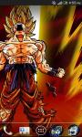 supersaiyan goku livewallpaper screenshot 2/4