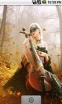 Beautiful Girl And Violin LWP screenshot 2/5
