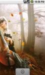 Beautiful Girl And Violin LWP screenshot 4/5