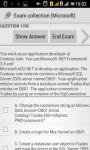 Microsoft exam collection screenshot 2/4