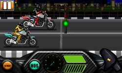 Drag race Bike Symbian screenshot 4/5