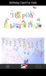Birthday card for kids screenshot 1/6