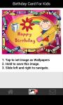 Birthday card for kids screenshot 3/6
