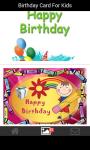 Birthday card for kids screenshot 5/6
