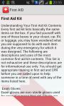 First AID_Info screenshot 3/3