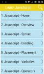 Learn JavaScript v2 screenshot 1/3