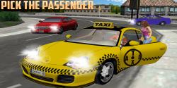 City Drive Taxi Simulator screenshot 2/5