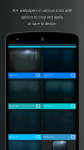 Pip Tec Blue Icons and Live Wall absolute screenshot 3/6