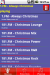 Christmas  Radio screenshot 2/3