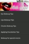 Make up Tips screenshot 1/2