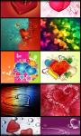 Love and hearts live wallpaper screenshot 1/6