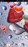 Love and hearts live wallpaper screenshot 2/6