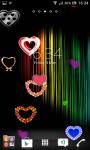 Love and hearts live wallpaper screenshot 4/6