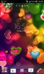 Love and hearts live wallpaper screenshot 6/6