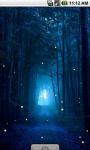 Night Fireflies Live Wallpaper screenshot 1/4