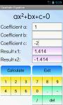 Quadratic Equations Solver Free screenshot 2/4