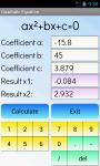 Quadratic Equations Solver Free screenshot 3/4
