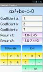 Quadratic Equations Solver Free screenshot 4/4
