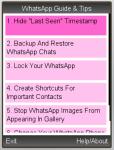 WhatsApp Guide and Tips screenshot 1/1
