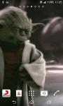 Starwars Master Yoda Live Wallpaper screenshot 2/6