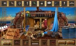 Free Hidden Object Games - Pirate Ship screenshot 3/4