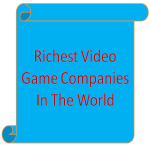 Richest Video Game Companies In The World screenshot 1/1