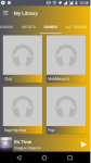 Mobile Music Player Apps screenshot 1/3