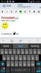 Aqua Mail Pro Key actual screenshot 3/6