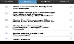 Body Fat Percentage screenshot 2/3