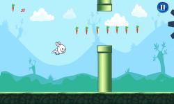 Bunny Flap : Eat The Carrots screenshot 3/6
