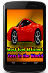 Most fuel Efficient Cars in the World screenshot 1/3