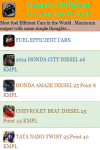 Most fuel Efficient Cars in the World screenshot 2/3