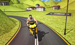 Flying Moto Racer 3d screenshot 1/5