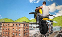 Flying Moto Racer 3d screenshot 4/5
